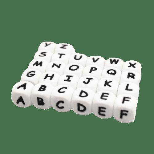 Perler i silikon - Bokstaver