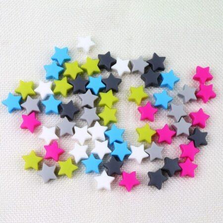 stjerner silikonperler